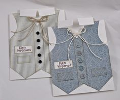 Here are two confirmation cards with a more masculine touch.I wish you all a lovely day,Mona V Pion products:My Beloved Son - Tags PD5512Days of Winter - Blue ornament PD5108