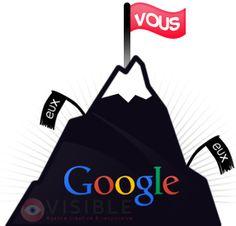 Stratégie de référencement & popularité Internet  L'agence Visible vous propose des outils et des stratégies de communication Internet visant à doper votre visibilité sur le web.