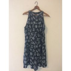Vintage Basic Editions Black Floral Romper from damsel in distressed