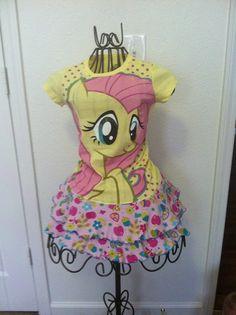 Pony custom tee dress