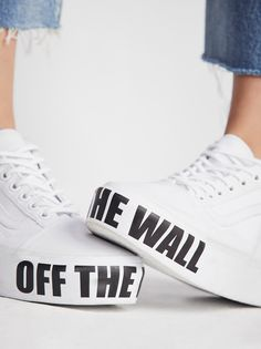 basket vans off the wall
