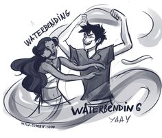 by http://viria.tumblr.com/post/46165154770/ive-been-meaning-to-do-an-atla-percy-jackson