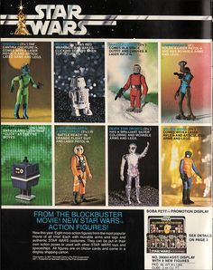 Kenner Star Wars product Supplement 1979 - page 01 by JasonLiebig, via Flickr