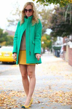 Shoes: ShoeMint, Cacoon Coat: J Crew, Sweater: J Crew, Skirt: Zara, Abstract Ring: JewelMint, Charm Bracelet: JewelMint, J Crew