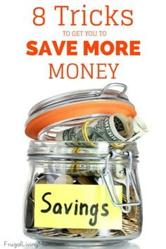 Everyone wants to see big numbers in their savings accounts, but few want to put in the work it takes to get there. Saving more money doesn't have to be difficult or a huge sacrifice. These eight little tricks can help you save more every month.