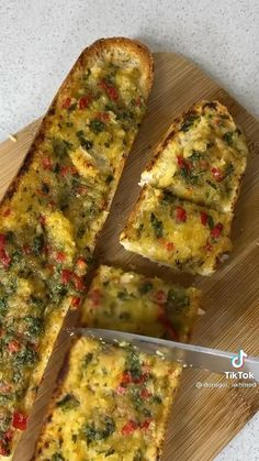 Pain, Quiche, Salad Recipes, Zucchini, Sandwiches, Toast, Good Food, Brunch, Cooking Recipes
