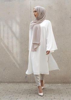 - #hijab Islamic Fashion, Muslim Fashion, Modest Fashion, Fashion Outfits, Modest Wear, Modest Dresses, Modest Outfits, Hijab Mode Inspiration, Style Inspiration