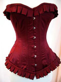 garnet corset