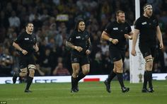 Nonu is all smiles after scoring New Zealand's second try of the final as they chased a third World Cup success