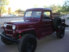 Jeep Pickup, Old Pickup Trucks, 4x4 Trucks, Cool Trucks, Willys Wagon, Jeep Willys, Jeep Cj, Willis Pickup, Jeep Concept