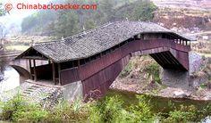 Xianqu bridge, Taishun in Zhejiang, China.  Google Image Result for http://chinabackpacker.info/dest/d49_files/xianqu_bridge.jpg