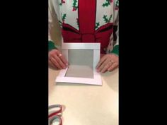 How to reduce the size of a gift box (make 1 box into 2 boxes)