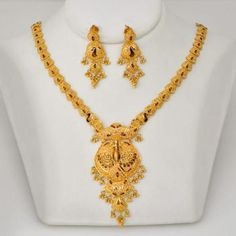 Buy Gold Jewelry Near Me Refferal: 4350453412 Real Gold Jewelry, Gold Jewellery Design, Swarovski Jewelry, Handmade Jewellery, Jewellery Box, Engraved Necklace, Silver Pendant Necklace, Gold Pendant, Necklace Set