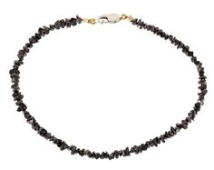 YUVI rough black diamond bracelet