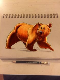 Bear Character Design by Richtoon