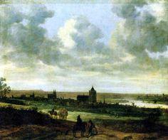 Jan van Goyen  - ( 1596-1659 ) Arnhem