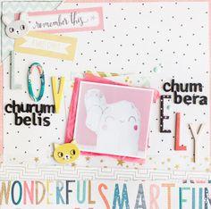 In The Scrap: Layout Chumbera churumbelis - Por Laura