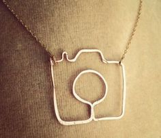Shoot Me Camera Necklace