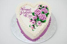 Bethel Bakery HMD6 - Mother's Day Heart Cake