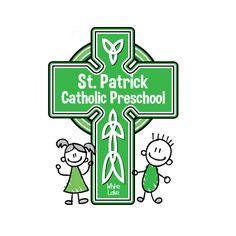 logo design for St. Patrick Catholic Preschool by the logo boutique White Lake, Kids Logo, St Patrick, Catholic, Preschool, Logo Design, Boutique, Logos, Children