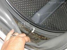 Efficace trucco per eliminare la muffa dalla lavatrice - Vivere più sani
