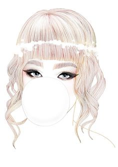 Curvy Crazy Chubby Queer | soulist-aurora: Bubble Gum GirlbyHajin Bae