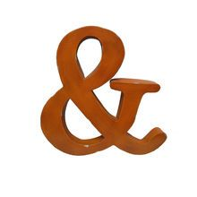 Orange Ampersand Wall Decor Accent By Ashland™.I want this for my bedroom..think would be fun above my bed..