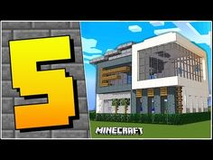 Minecraft: 5 TYPES OF HOUSES - YouTube Minecraft Videos, Minecraft Houses, Baby Games, Games For Kids, Best Luxury Cars, View Video, Mini Games, Types Of Houses, House Design