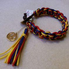 25a7d0b236b7 Pulsera tricolor  pazenvenezuela s.o.s. Pulseras De Moda