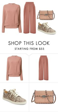 """""""Sin título #793"""" by harrysdirectioner2 ❤ liked on Polyvore featuring STELLA McCARTNEY, Topshop, Christian Louboutin and Valentino"""