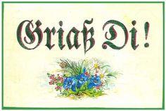 Grüß Gott Bayrisch