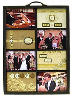 DIY wedding memories tray (modify to any special occasion)