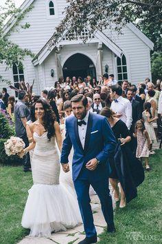 Pretty-in-Pink Garden Wedding   WedLuxe Magazine