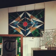 My very first stained glass piece. I decided to go big or go home.