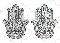 Hamsa, Fatima hand amulet #amulet