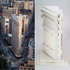 I reverse-engineered some details of the upcoming LEGO Architecture set #21023 of the Flatiron Building from one leaked photo of the box cover.