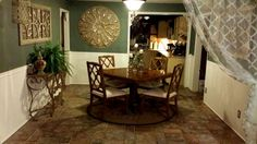 My dining room!