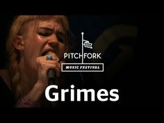 "she has the best moves on the planet // Grimes performs ""Circumambient"" at Pitchfork Music Festival 2012"