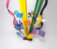 Scout Magazine - stop motion & paper craft by Cris Wiegandt, via Behance