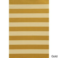 Indoor/ Outdoor Stripe Polypropylene Rug (6'7 x 9'6) | Overstock.com Shopping - Great Deals on Style Haven 5x8 - 6x9 Rugs