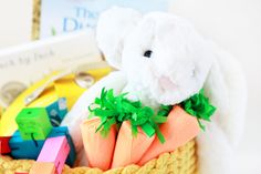 Easter Basket Ideas | Avery and Augustine for Honest to Nod | The Land of Nod