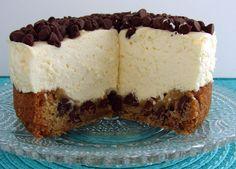 10 minute Chocolate Chip Cookie Cheesecake Recipe
