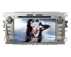 Android 4.0 car DVD player for Ford S-Max 2008-2011, auto multimedia with 7 inch touch screen, GPS navigation system with dual zone function, WIFI, 3G Internet Access, analog TV tuner built in, Radio with RDS, Bluetooth car kit, iPod port, USB, SD, support the original steering wheel controls, CAN bus decoder to support the orignal digital amplifier (optional), Color: Silver, Black