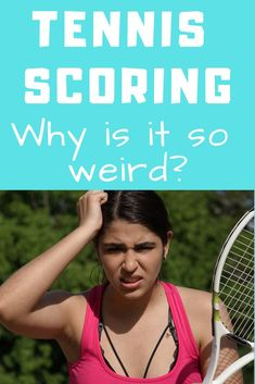 Tennis scoring made easy! Learn the basic of tennis scoring so you can feel confident when you walk out on the tennis court. Everything you need to know about how to score a tennis match. Tennis Camp, Tennis Rules, Tennis Gear, Tennis Clothes, Tennis Party, Tennis Scores, How To Play Tennis, Tennis Equipment