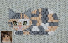 Needlepoint Study Hall . #Cat Lovers Join > http://OzziCat.com.au