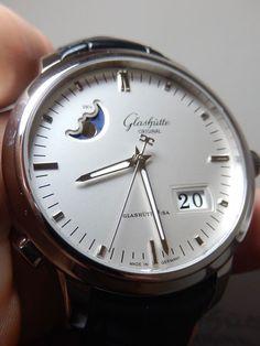 Glashutte Senator Panorama Date Moon Phase 100% LNIB UNWORN $11,000 List Perfect in Jewelry & Watches, Watches, Wristwatches | eBay