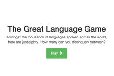 Fun with The Great Language Game | Mental Floss    My score 250!