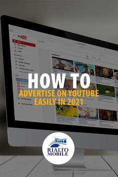 In 2021, you need to learn how to advertise on #Youtube. Why? Because Youtube is the future of #advertising. Learn useful tips in this article.