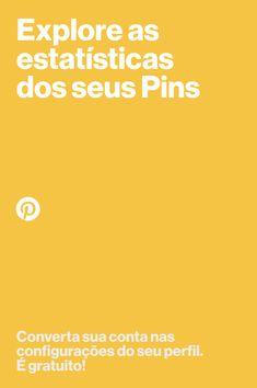 É um produtor de conteúdo? Aproveite todos os recursos de contas business no Pinterest. Converta já sua conta! É gratuito. Online Work, Marketing Digital, Woody, Create Yourself, Ads, Wallpaper, Social Networks, Wood Turning, Feed Trough