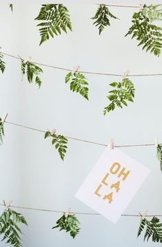 palm. ferns. oh la la. palm springs wedding trend. another story